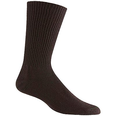 Burlington casual acrylic crew socks BB201 - brown