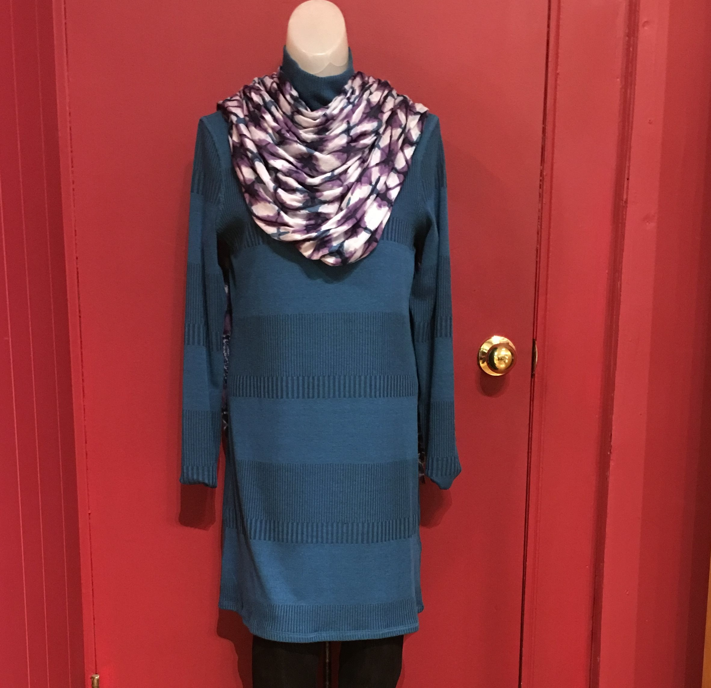 Aventura Dress and scarf