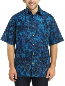 Batik short sleeve shirti