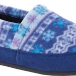 acorn slippers - icelandic blue