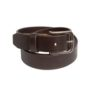 Canyon Outback brushed brown leather belt