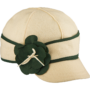 Stormy Kromer petal pusher benchwarmer - green and white
