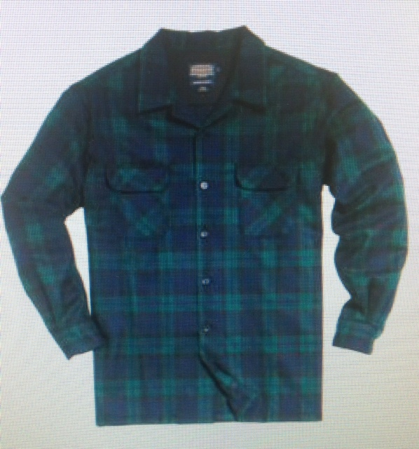 Pendleton Board Shirt - black watch tartan